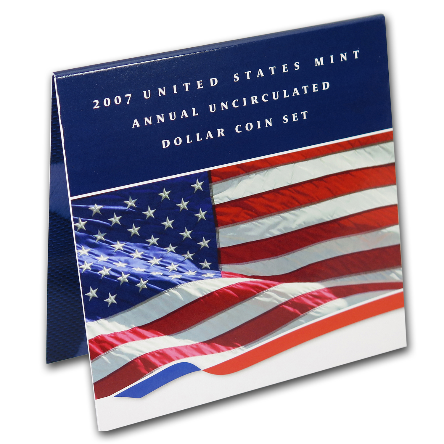 2007-W US Mint Annual Uncirculated Dollar 6 Coin Set